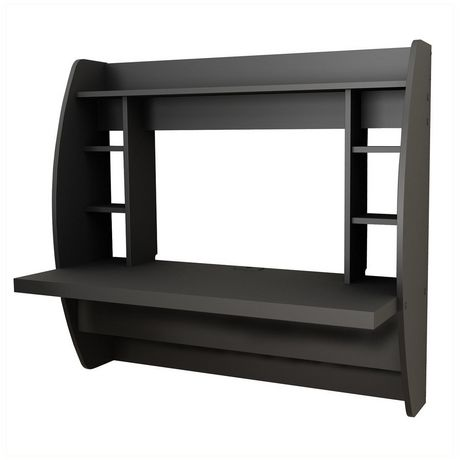Prepac Floating Desk With Storage Walmart Ca