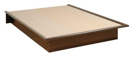 Prepac base de lit plateforme double - Plateforme de lit double ...