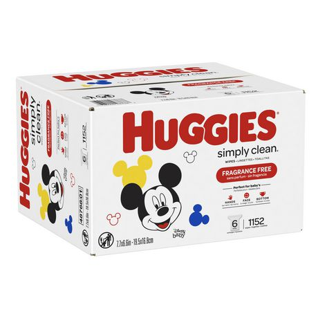 Huggies Simply Clean Fragrance-free Baby Wipes, Refill Pack - image 2 of 5