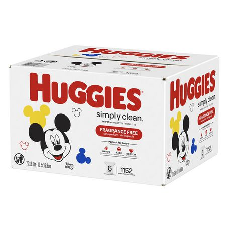 Huggies Simply Clean Fragrance-free Baby Wipes, Refill Pack - image 4 of 5