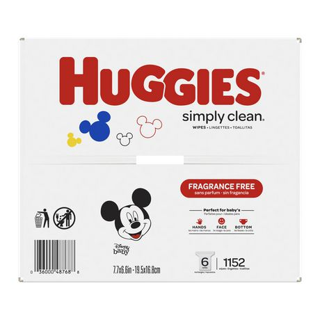 Huggies Simply Clean Fragrance-free Baby Wipes, Refill Pack - image 5 of 5