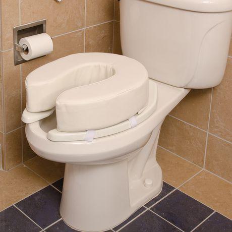 Coussin de siège de toilette DMI en mousse de vinyle de 2 po - image 3 de 5