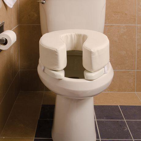 Coussin de siège de toilette DMI en mousse de vinyle de 2 po - image 4 de 5