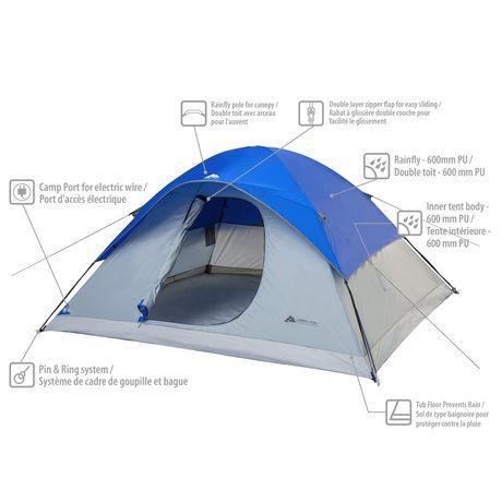 Ozark Trail 6 Person Dome Tent  sc 1 st  Walmart Canada & Ozark Trail 6 Person Dome Tent | Walmart Canada