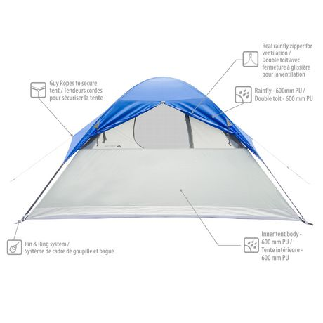 Ozark Trail 6 Person Dome Tent - image 3 of 5