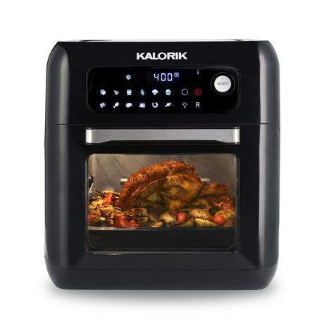 Kalorik Digital Air Fryer Oven Afo 44880 Bk Walmart Canada
