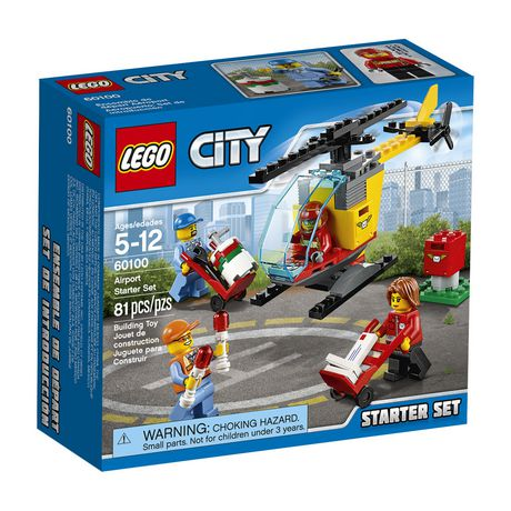 0bafbc3f0a9 LEGO® City Airport - Airport Starter Set (60100) - image 1 of 2 ...