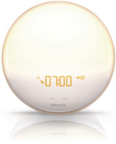 Superb PHILIPS Wake Up Light With Coloured Sunrise Simulation HF3520/60