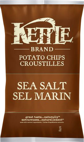 Kettle Chips Sea Salt Gluten Free Potato Chips - image 1 of 2