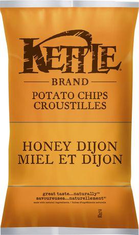 Kettle Chips Honey Dijon Gluten Free Potato Chips - image 1 of 2