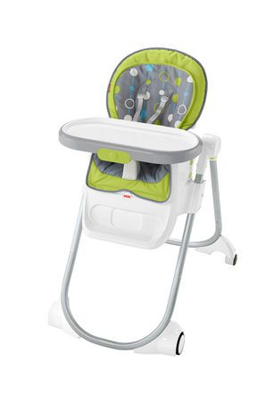 Chaise haute 4 en 1 nettoyage facile de fisher price - Chaise fisher price musical ...