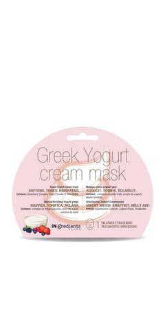 iN.gredients Brand Greek Yogurt Cream Mask - image 1 of 2