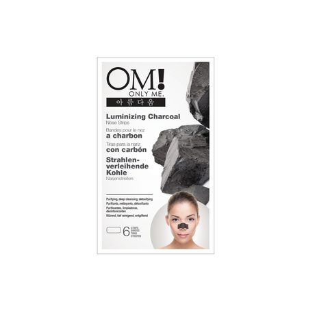 ONLYME! Luminizing Charcoal Nose Strips - image 1 of 2