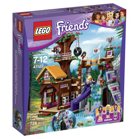 Lego 174 Friends Adventure Camp Tree House 41122
