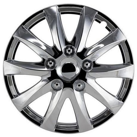 """16"""" Chrome Wheel Cover 4 pack - image 1 of 1"""