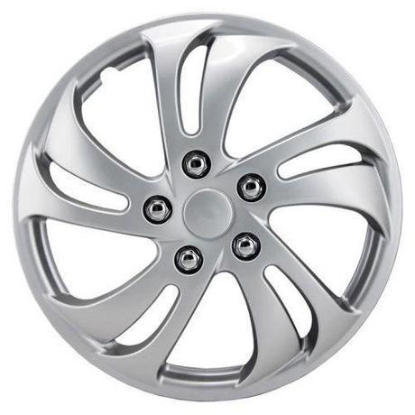 16 silver sport wheel cover 4 pack. Black Bedroom Furniture Sets. Home Design Ideas