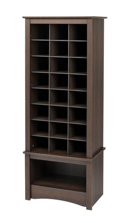 cabinet de rangement chaussures format haut. Black Bedroom Furniture Sets. Home Design Ideas