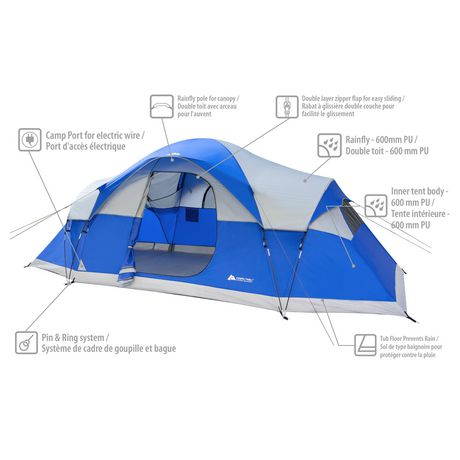 Ozark trail tent instructions 6 person