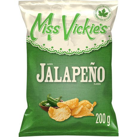 Miss Vickie's Jalapeño Kettle Cooked Potato Chips - image 1 of 6