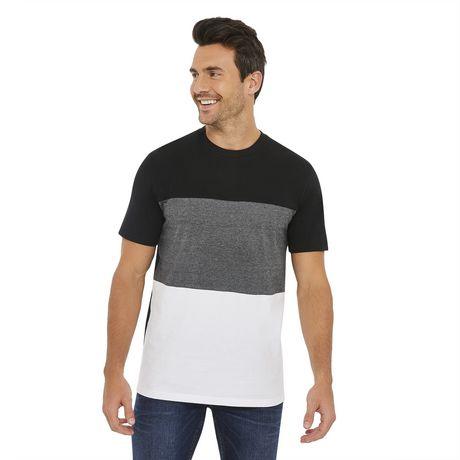 T Colour Blok shirt Men Grey CBoexdrW