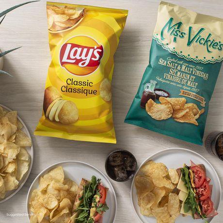 Miss Vickie's Sea Salt & Malt Vinegar Kettle Cooked Potato Chips - image 4 of 6