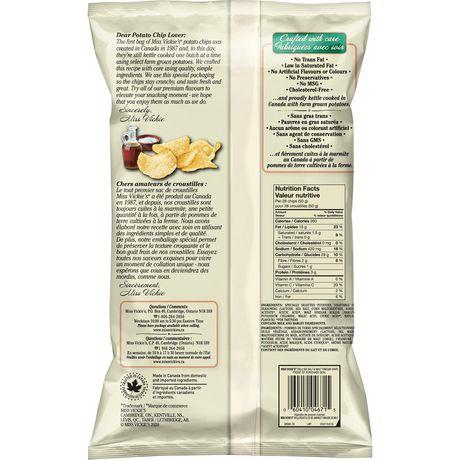 Miss Vickie's Sea Salt & Malt Vinegar Kettle Cooked Potato Chips - image 6 of 6