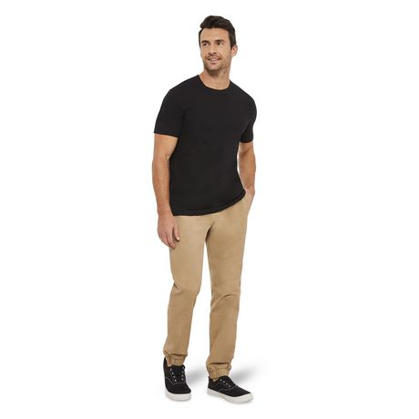 George Men's short Sleeved Crewneck Cotton Tee - image 5 of 6