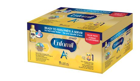 Enfamil A+® Baby Formula, Ready to Feed Bottles - image 2 of 5
