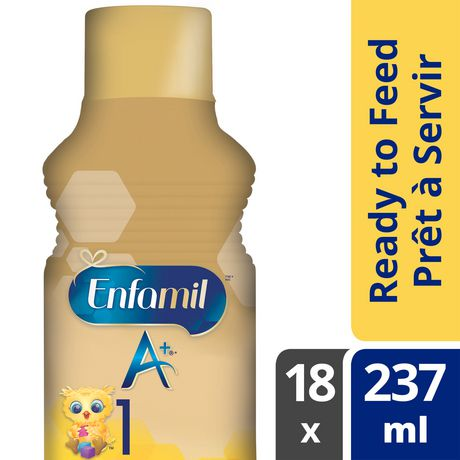 Enfamil A+® Baby Formula, Ready to Feed Bottles - image 1 of 5