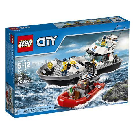 Lego City Police - Police Patrol Boat (60129)