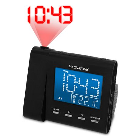 Am Fm Projection Clock Radio At Walmart Ca Walmart Canada