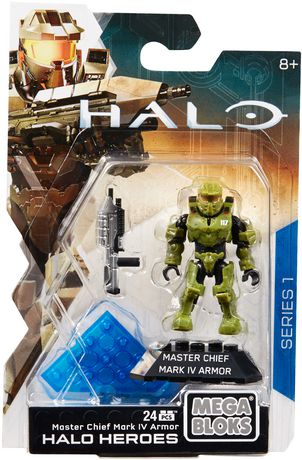Mega Construx HALO Heroes Master Chief Mark Iv Armor Figure