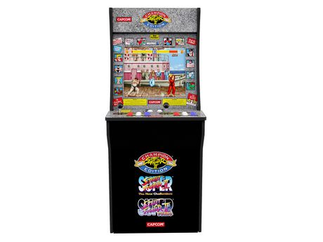 Arcade 1Up Street Fighter II Game - image 1 of 6