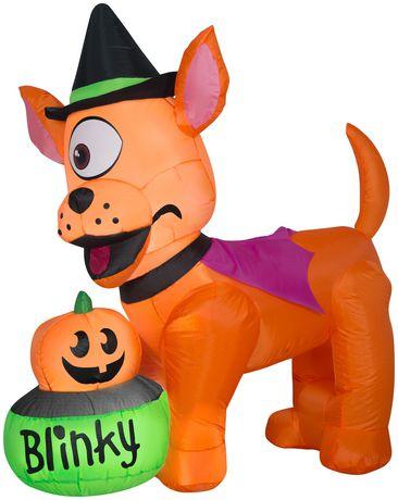 Blinky Dog Scene Inflatable
