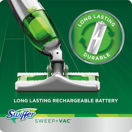 Swiffer Sweep Vac Cordless Vacuum Kit 1 Rechargeable