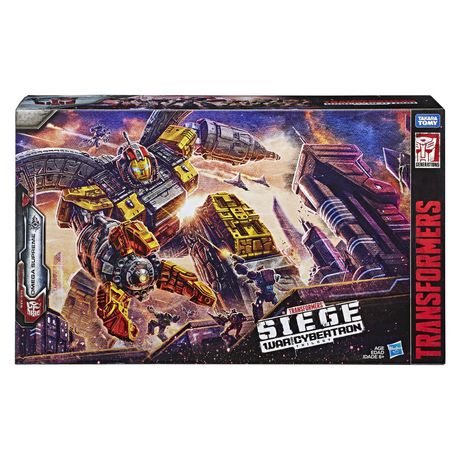 Takara Tomy Transformers Generations War for Cybertron Titan WFC-S29 Omega Supreme Action Figure