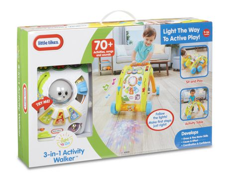 Little Tikes Light 'n Go - 3-in-1 Activity Table And Walker - image 8 of 8