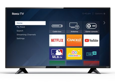 "Sanyo 43"" 1080p Roku Smart TV, FW43R48FC - image 1 of 6"