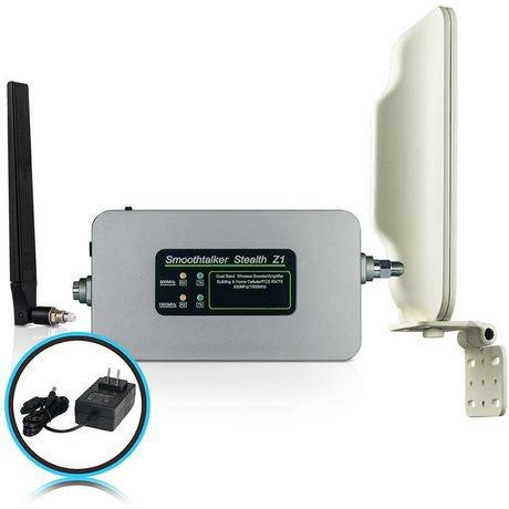 Smoothtalker z1 amplificateur cellulaire pour b timents for Antenne cellulaire maison