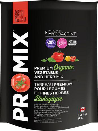 Terreau biologique pour légumes et fnes herbes PRO-MIX® - image 1 de 1