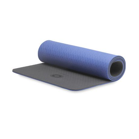 Stott Pilates Eco Deluxe Pilates Mat With Strap Blue