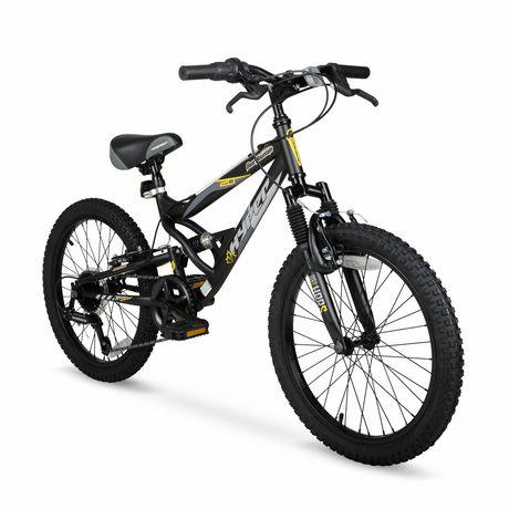 """20"""" Hyper Bicycles Bear Mountain Vélo de montagne à suspension totale Unisexe en acier - image 2 de 5"""
