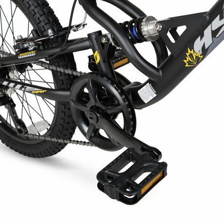 """20"""" Hyper Bicycles Bear Mountain Vélo de montagne à suspension totale Unisexe en acier - image 5 de 5"""