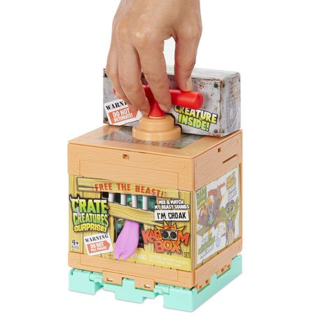 Crate Creatures Surprise KaBOOM Box – Croak Mix n Match Figure - image 5 of 7