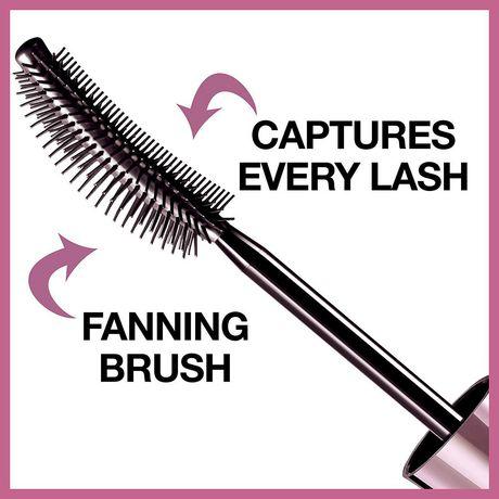 Maybelline New York Lash Sensational Full Fan Effect Waterproof Volume Mascara Very Black - image 7 of 8