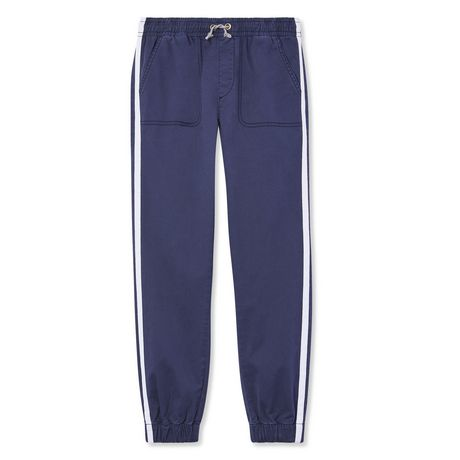 George Boys' Twill Jogger with Taping - image 1 of 2