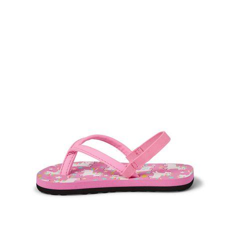 George Toddler Girls' Floral Beach Sandal - image 3 of 4