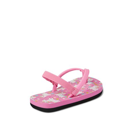 George Toddler Girls' Floral Beach Sandal - image 4 of 4