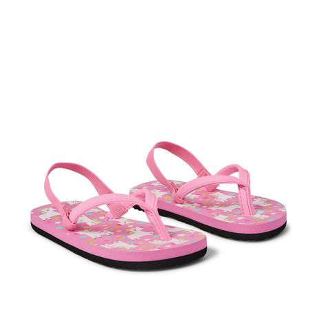 George Toddler Girls' Floral Beach Sandal - image 2 of 4