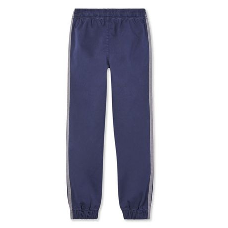 George Boys' Twill Jogger with Taping - image 2 of 2